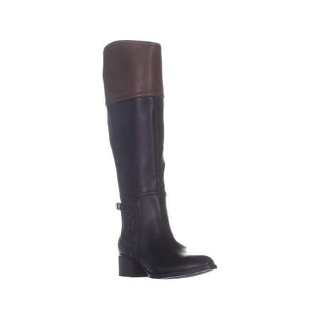 Tommy Hilfiger Womens Merritt Leather Almond Toe Knee - image 2 of 2