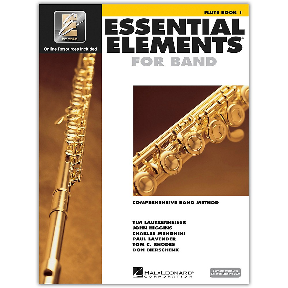 Hal Leonard Essential Elements for Band - Flute 1 Book/Online Audio