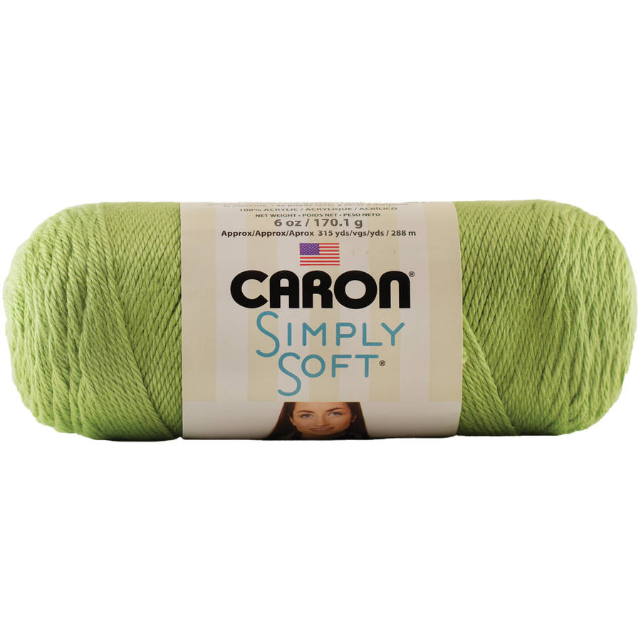 Caron Simply Soft Collection Yarn, Pistachio