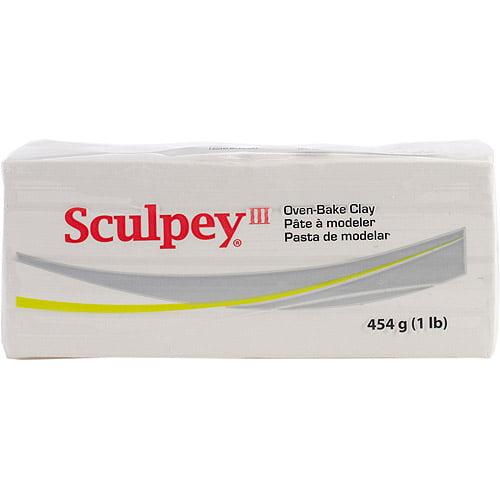 Sculpey III Polymer Clay, 1 lb