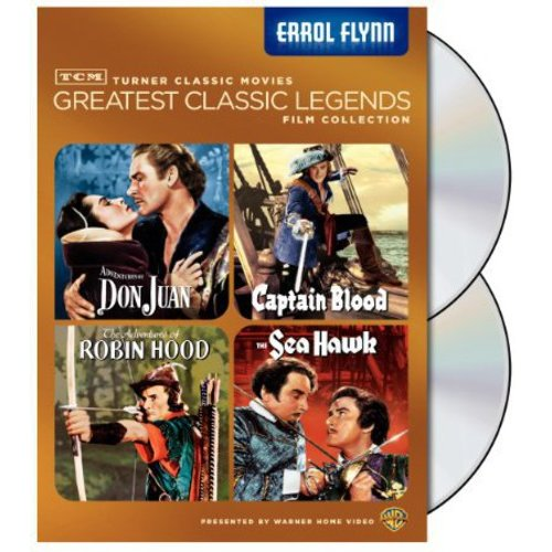 TCM Greatest Classic Legends Collection: Errol Flynn - Don Juan / Captain Blood / The Adventures Of Robin Hood / The Sea Hawk