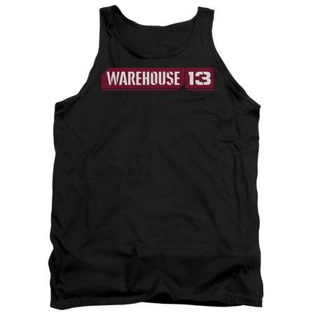 Warehouse 13 Logo Mens Tank Top Shirt