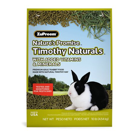230024 Natures Promise Rabbit Pellets Food For Pets  10 Pound  Zupreem Natures Promise Premium Rabbit Food Is Made From Long Strand High Fiber    By Zupreem