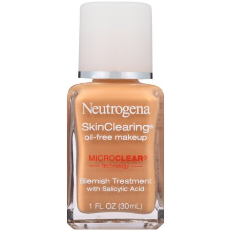 Neutrogena Skin Clearing Liquid Makeup Foundation 85 Honey