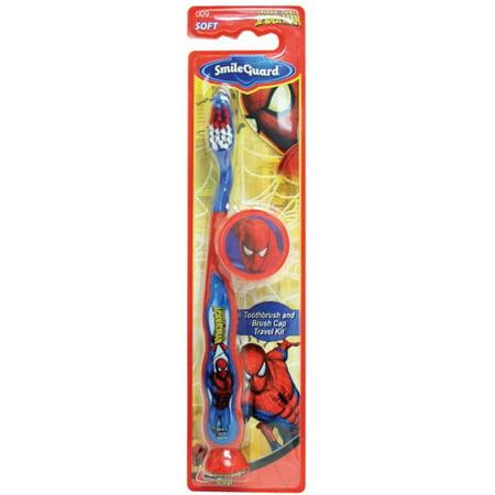 Marvel Heroes Barrel Toothbrush Suction Bottom - 3D Sticker - Cap
