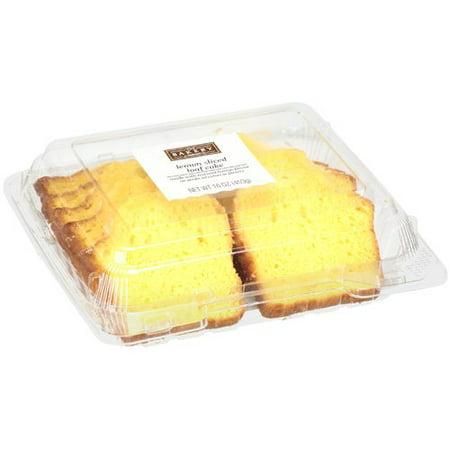 The Bakery Lemon Creme Sliced Loaf Cake 16 Oz