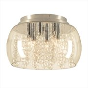 PLC Lighting 73068 PC Hydro Ceiling Lights 6 Light Incandescent 40W in Polished Chrome