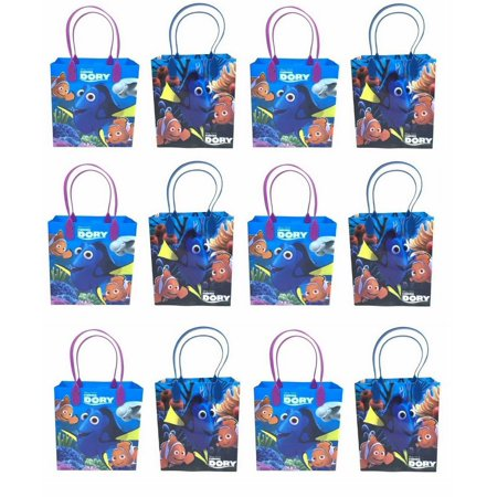 Finding Nemo Birthday Party (20 pcs FINDING NEMO DORY CANDY BAGS GOODY LOOT PARTY FAVORS DISNEY)