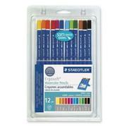 Staedtler Ergosoft Watercolor Pencil Set, Pack of 12