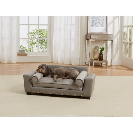 Enchanted Home Pet Bootsie Scout Dog Sofa with Cushion