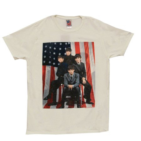 ... American Flag Pose Junk Food Adult Rock Band T-Shirt Tee - Walmart.com
