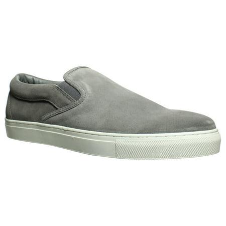 J/slides Mens Dimmi Grey Loafers Size 13 (Mens Size 13 High Heels)