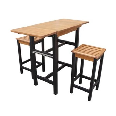 Astonishing Kitchen Island Table Two Stool Set Andrewgaddart Wooden Chair Designs For Living Room Andrewgaddartcom