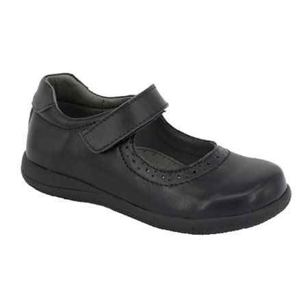 Happystep? Genuine Leather Toddler Little Girl Mary Jane School Uniform Formal Dress Shoes - Black (1 Pair) - image 2 of 6