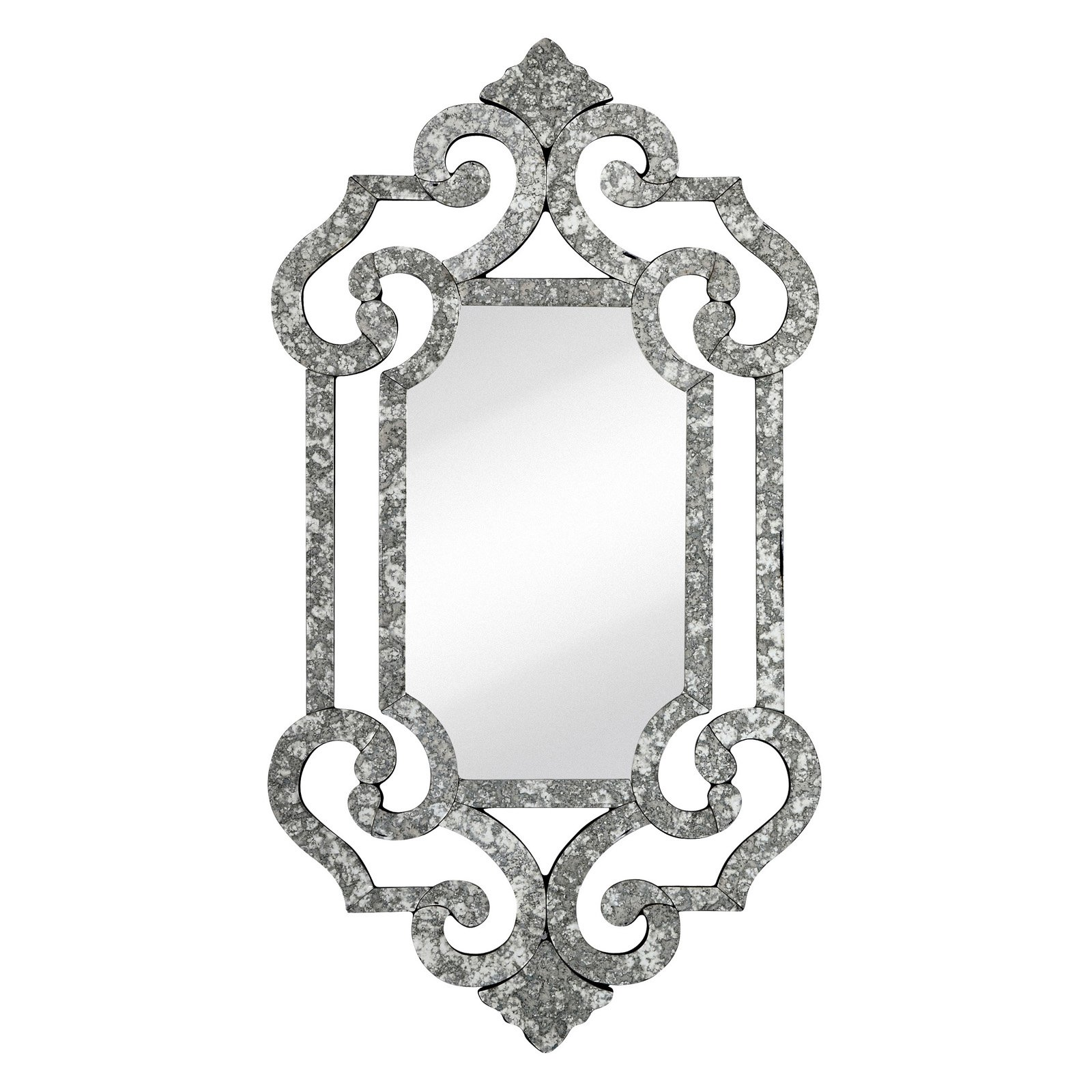 Majestic Decorative Beveled Accent Wall Mirror
