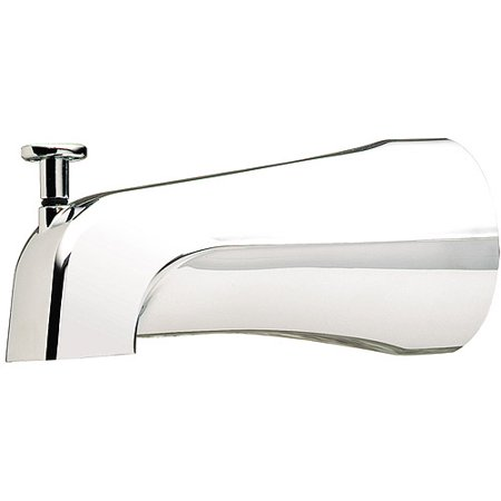 "Plumb Craft Waxman 7657000P 2.8"" L X 5.3"" W X 9.1"" H Chrome Tub Spout W/Diverter"