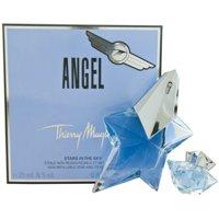 Thierry Mugler Angel Eau De Parfum Spray & Eau De Parfum Mini For Women 2 ea