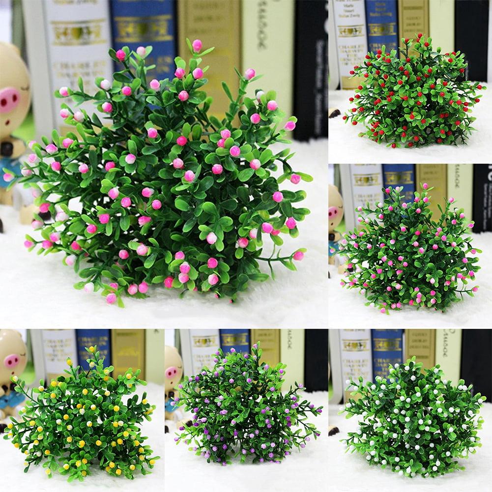 Heepo 15 Heads Artificial Aglaia Odorata Flowers Plant Home Wedding Party Decoration
