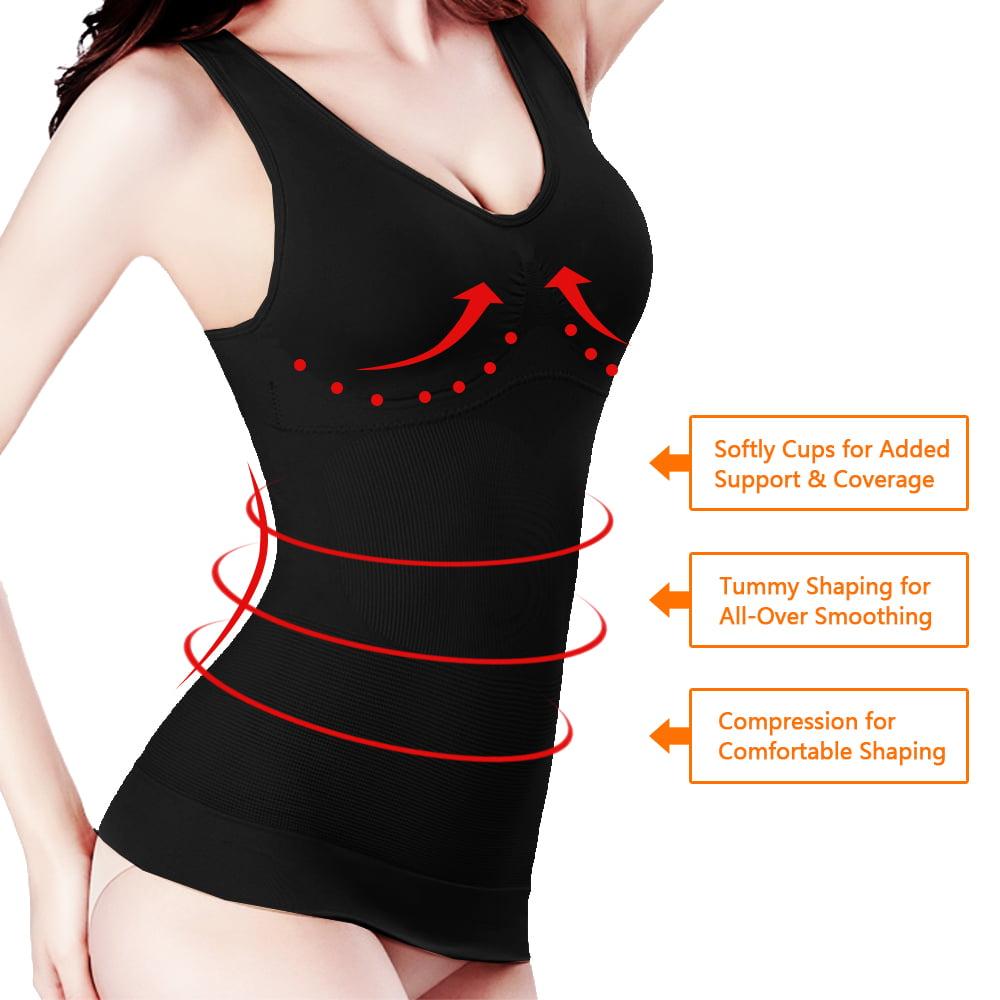 Women/'s Slimming Body-Support Undershirt Cami