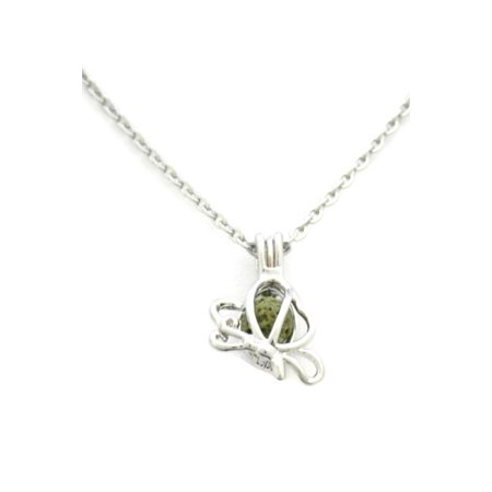 Butterfly Girls Essential Oil Diffuser Necklace- 16