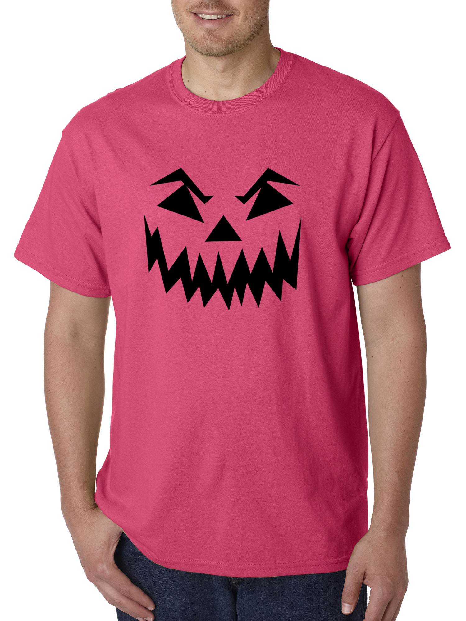 trendy usa trendy usa  unisex  shirt scary halloween pumpkin face jack  lantern xl