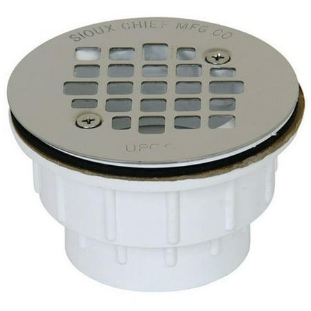 Sioux Chief Shower Drain Screw-On Pvc 2