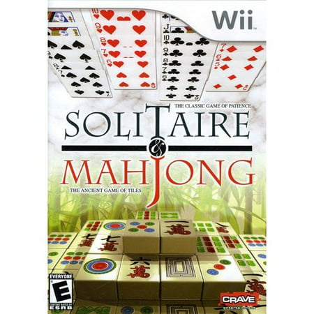 Solitaire & Mahjong - Nintendo Wii (Free Mahjong Solitaire Game)