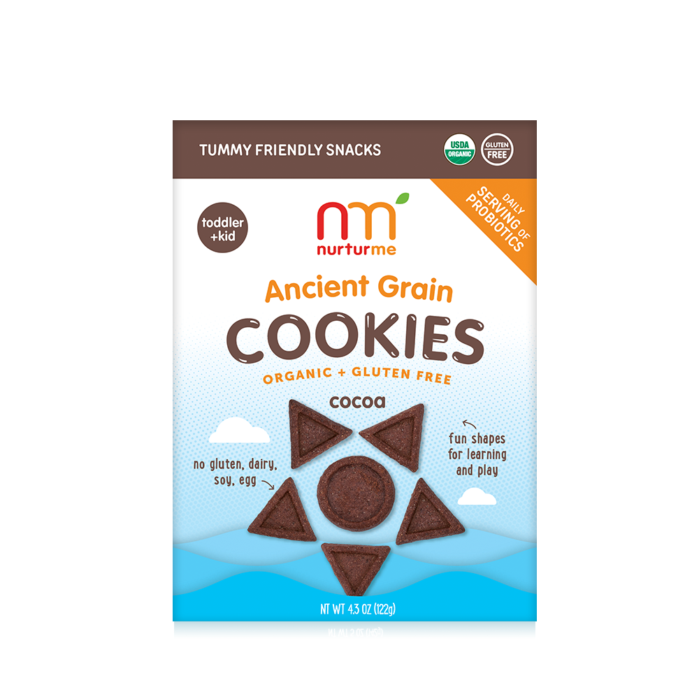 NurturMe Organic Ancient Grain Cookies: Cocoa (4.3 oz)