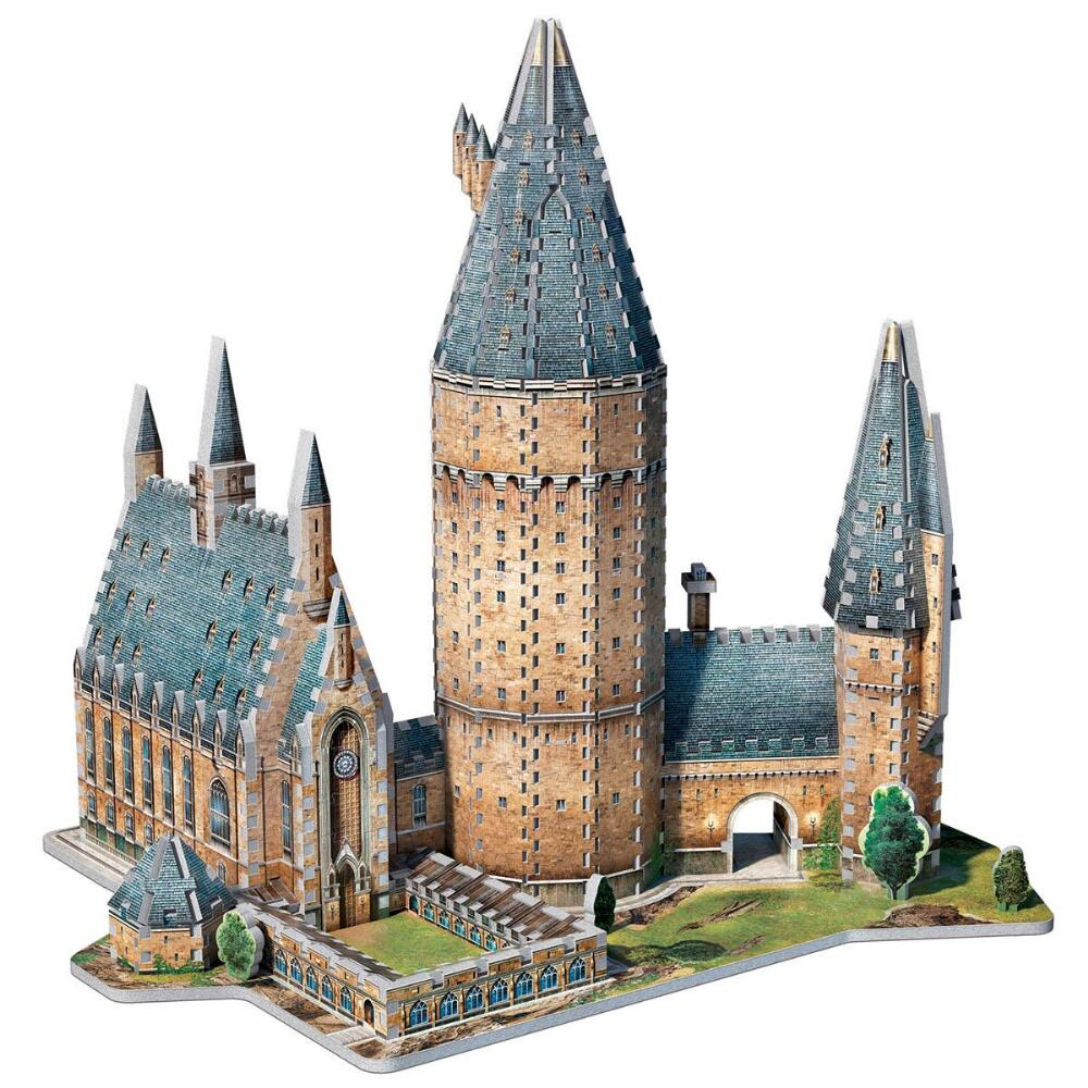 Wrebbit 3D Puzzle Harry Potter Hogwarts Great Hall, 850 Pieces by Wrebbit
