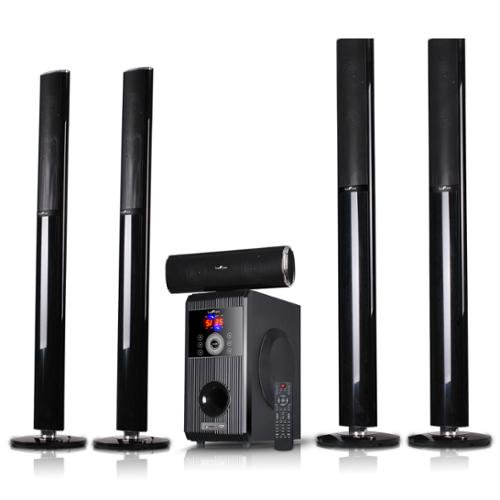 Befree Sound Bfs 910 5 1 Channel Surround Sound Bluetooth Stand Speaker System Walmart Com Walmart Com