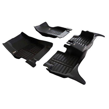 TuxMat Custom Car Floor Mats for Mazda 3 2009-2013 Models- Laser Measured, Largest Coverage, Waterproof, All Weather. - image 5 of 12