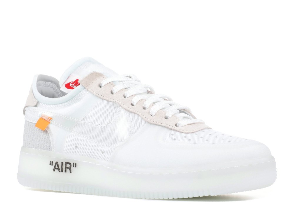 84d1f9088a4 Nike - Men - The 10 : Nike Air Force 1 Low 'Off-White' - Ao4606-100 - Size 8