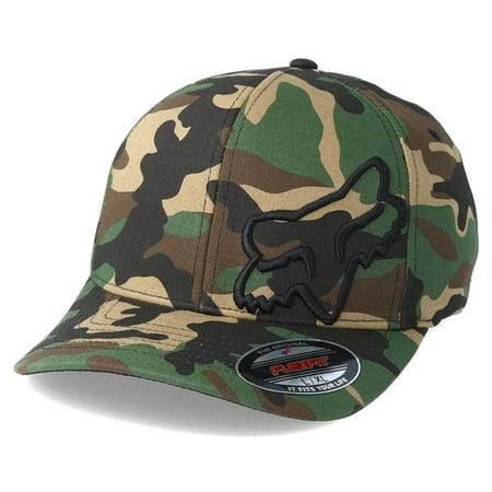 6c01cc61b7c97 FOX - Fox Racing Flex 45 Flexfit Mens Headwear Cap - Camo All Sizes ...