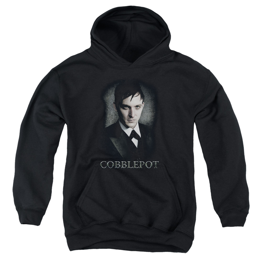Batman Gotham Cobblepot Big Boys Pullover Hoodie