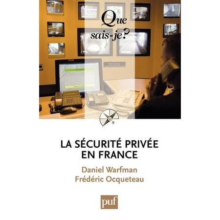 La sécurité privée en France - (La Date D'halloween En France)