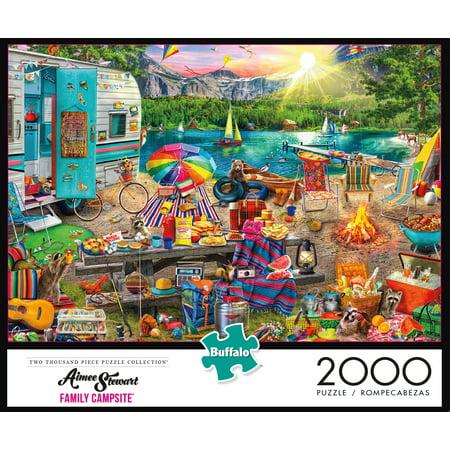 Buffalo Games The Family Campsite Puzzle, 2000 Piece