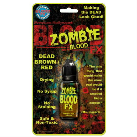 Tinsley Halloween Zombie Dark Drying Costume Blood