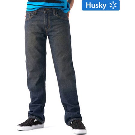 01e11eb8709 Signature by Levi Strauss & Co. - Straight Fit Jeans (Husky) - Walmart.com