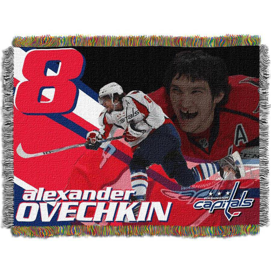 "NHL 48"" x 60"" Players Series Tapestry Throw, Alexander Ovechkin"