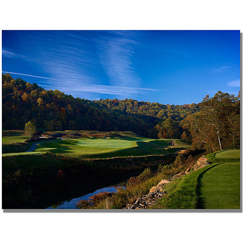 "Trademark Fine Art ""Golf 13"" Canvas Wall Art"
