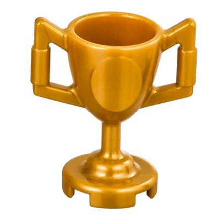 LEGO Pearl Gold Trophy Cup [No - Piston Cup Trophy