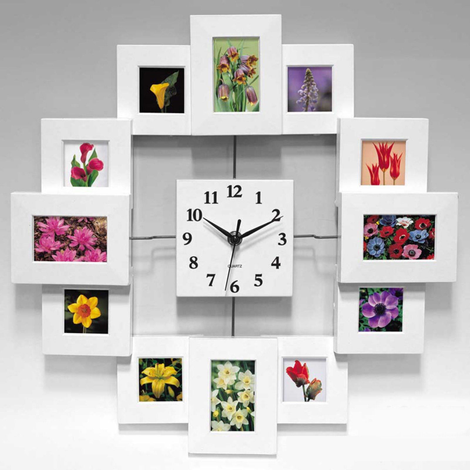 Infinity instruments time capsule 1575 inch wall clock walmart amipublicfo Gallery