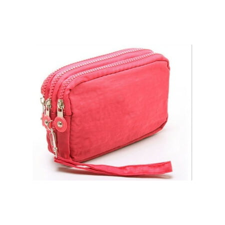 Lady Phone Wallet Package 3 Layers Handbag Cross Section Clutch Bag Large