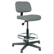 "BEVCO Task Chair 23"" to 33""H, Gray, 5500 GRAY FABRIC"