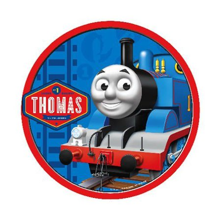 Thomas the Train Edible icing image for 8 inch round cake for $<!---->