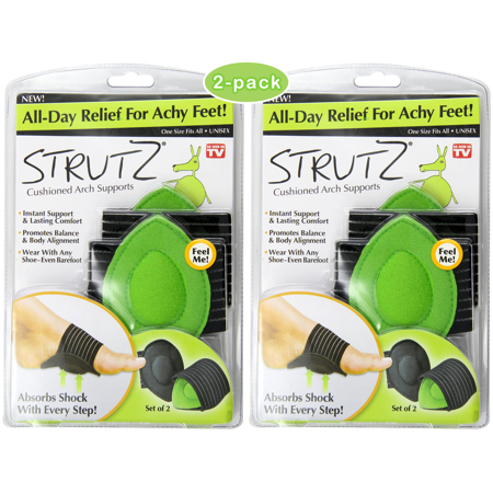 As Seen on TV Strutz Cushioned Arch Supports,
