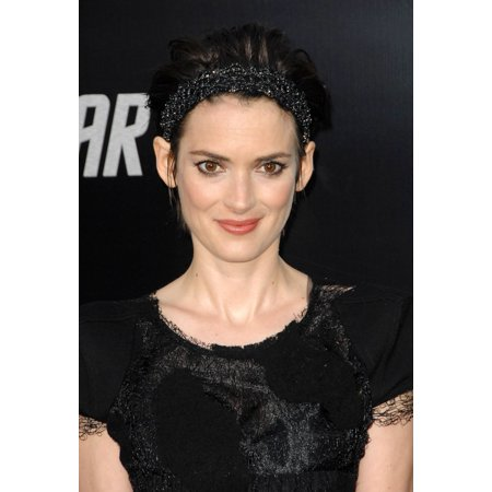 Winona Ryder At Arrivals For Premiere Of Star Trek Graumans Chinese Theatre Los Angeles Ca April 30 2009 Photo By Dee Cerconeeverett Collection Photo Print