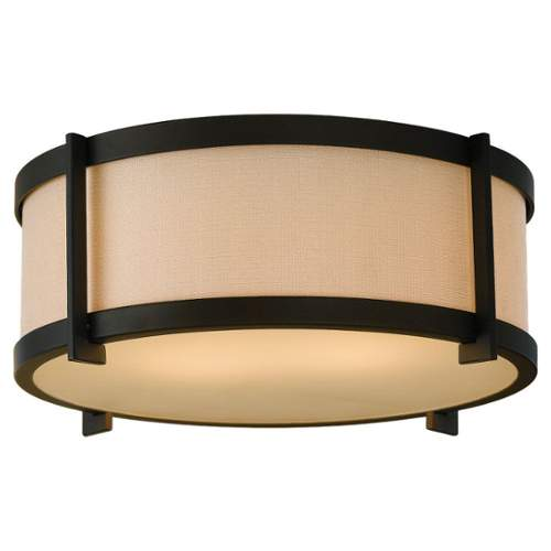 Murray Feiss FM335 Stelle 2 Light Flush Mount Ceiling Fixture