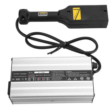 Fugacal Golf Cart Charger,Golf Battery Charger,36V 5A LED Indicator Golf Cart Club Car Battery Charger Over Current