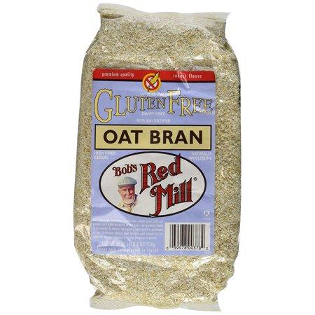 Oat Bran Fiber - Bobs Red Mill Oat Bran Gf, 1 lb 2 oz (pack of 2)